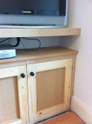 TV Storage Cabinet and Shelving