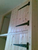 Tongue and Grooved Style Wardrobe
