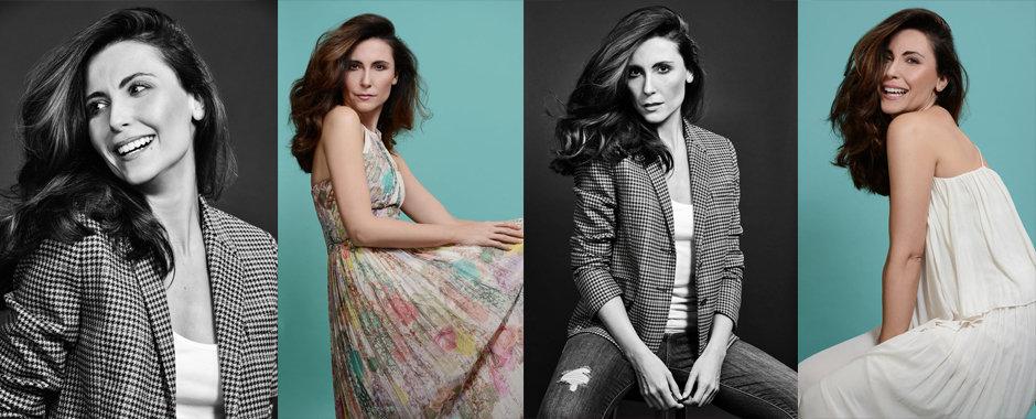 Presenter Natalia Ferrara by London Fashion & celebrity portrait photographer Zuzana Breznanikova