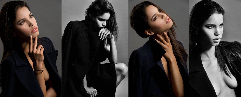 Brazilian supermodel Daiane Sodre @ Next by fashion & celebrity portrait photographer Zuzana Breznanikova