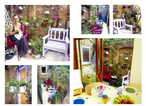 Recycle garden