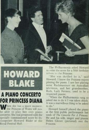 Hello Magazine. Princess Diana Presentation.