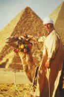 Camel driver Cairo Egypt