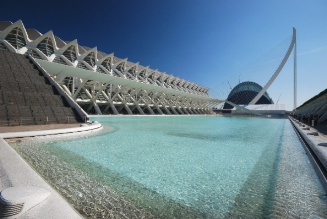 The Science Museum 1. City of Arts & Sciences. Valencia. Spain