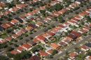 Suburbia, Lidcombe North, Sydney, New South Wales, Australia - aerial