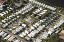 Campground, Alexandra Headland Beach, Sunshine Coast, Queensland, Australia - aerial