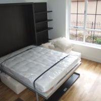 Apartments to let to students - studio pull out double bed.