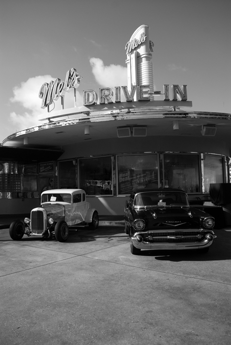 50's drive in