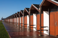 Beach huts Bridlington