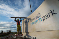 Haverhill Research ParkSign Installation