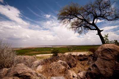 The stunning Lake Manyara National Park