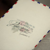 Airmail Order of Service C-Airmail Order of Service C