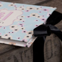 CANDY CLOUD FLORAL GUEST BOOK B