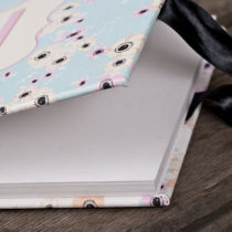 CANDY CLOUD FLORAL GUEST BOOK D