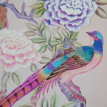 CHINOISERIE Guest Book Pink-4