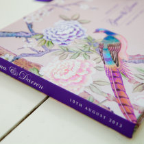 CHINOISERIE Guest Book Pink-7