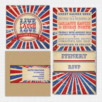 Carnival Pocket Wallet Invitation