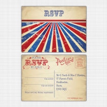 Carnival RSVP Reply Card