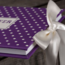 DOTTY PERSONALISED GUEST BOOK C