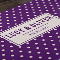 DOTTY PERSONALISED GUEST BOOK D