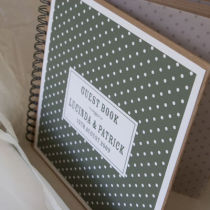 DOTTY PERSONALISED PHOTO GUEST BOOK C