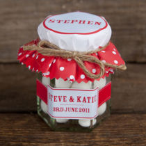 DOTTY PERSONALISED SWEETY JAR FAVOR