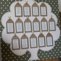 DOTTY TABLE SEATING PLAN B