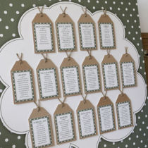 DOTTY TABLE SEATING PLAN C