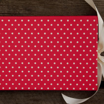 DOTTY guest book red B