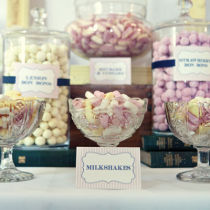 Dahlia Candy Bar Labels