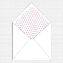 Dahlia Envelope Liner