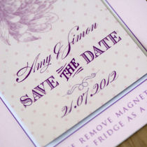 Dahlia Save the Date B