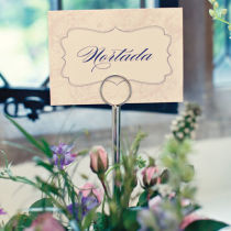 Dahlia Table Numbers