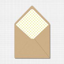 Daisy Envelope Liner