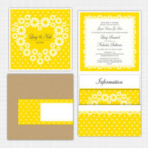Daisy Pocket Wallet Invitation