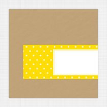 Daisy Envelope Address Label