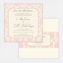 Darcy Flat Card Invitation Flat Card