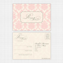 Darcy Rsvp Reply Card