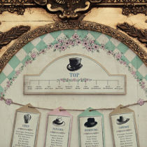 Dottie Alice in Wonderland Table Plan B