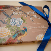 Chinoiserie Personalised Guest Book