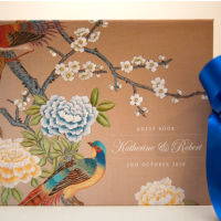 Dottie Chinoiserie Guest Book