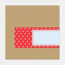 Dottie Envelope Address Label