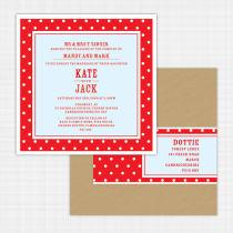 Dottie Flat Card Invitation