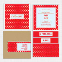 Dottie Pocket Wallet Invitation Invitation