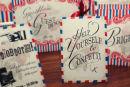 Dottie Seaside Funfair Confetti Sign Tent card