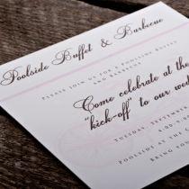 Dottie Tandem Bike Wallet Invitation I