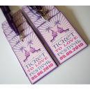 Dottie Ticket to Love Music Festival Wedding Programme E