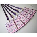 Dottie Ticket to Love Music Festival Wedding Programme H