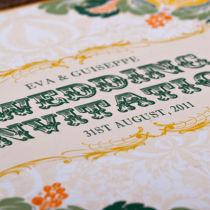 Dottie Tutti Fruiti Lemon Wallet Invitation H