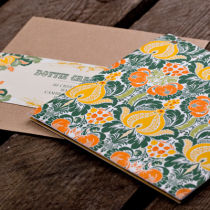 Dottie Tutti Fruiti Lemon Wallet Invitation  C
